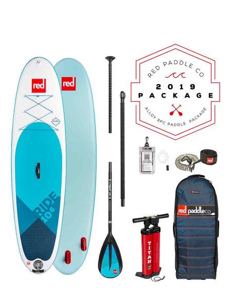 """Red Paddle 10'6"""" Ride + Alloy Nylon 3tlg. iSUP Set 2019"""