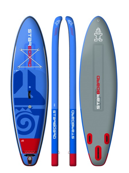 """Starboard 10'5"""" Wide Point Deluxe DC iSUP 2018"""