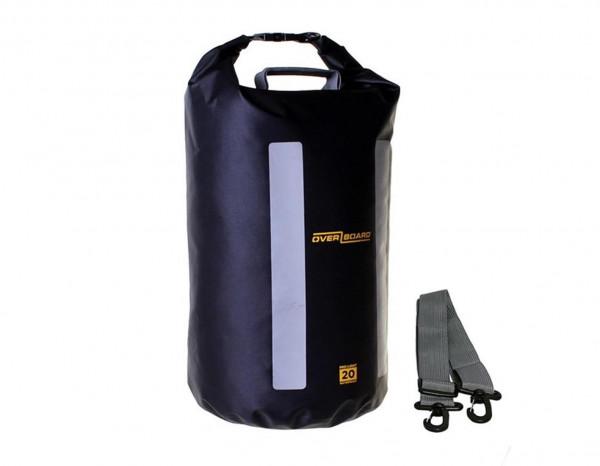 OverBoard wasserdichter Packsack LIGHT 20 L Schw