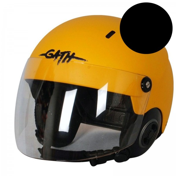 GATH Helm RESCUE Schwarz matt Gr XL
