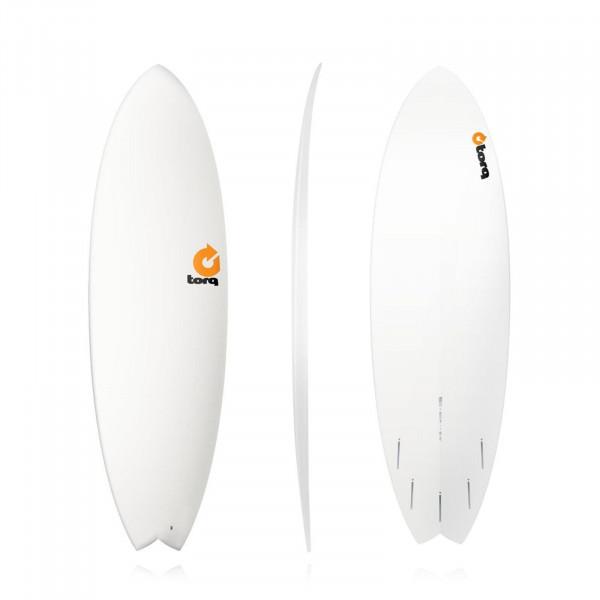Surfboard TORQ Epoxy TET 5.11 Fish white
