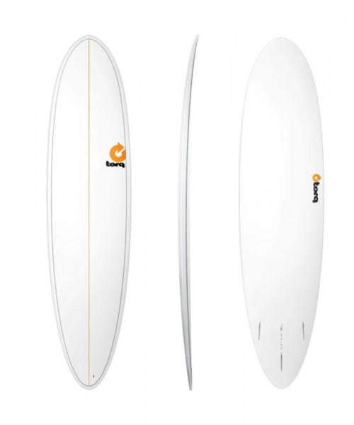 TORQ Epoxy TET 7.6 Funboard Pinlines Surfboard