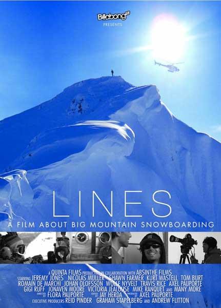 LINES - Big Mountain Snowboarding Alaska