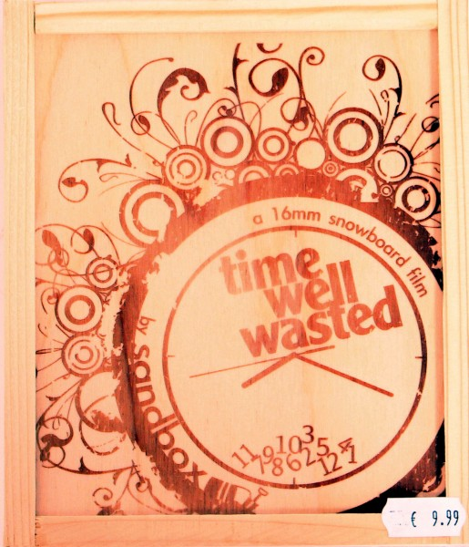 TIME WELL WASTED Wooden Box Special Edition by Sandbox