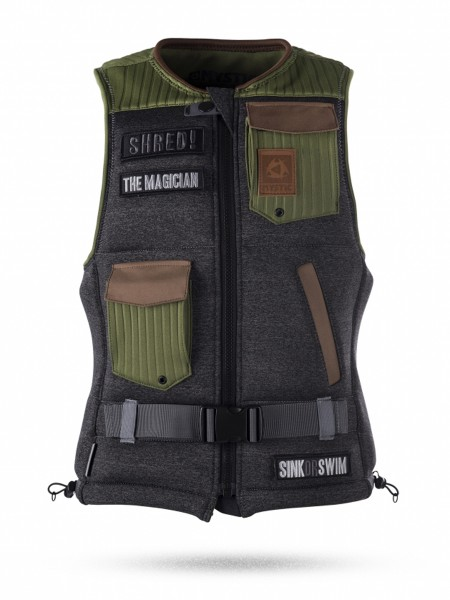 Mystic The Magician FrontZip Wakeboardweste