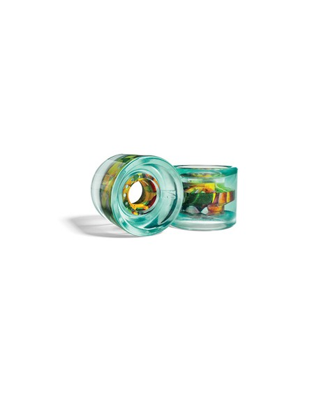 Globe Longboard G Icon Wheel 62mm clearwater/tropics (4er Set)
