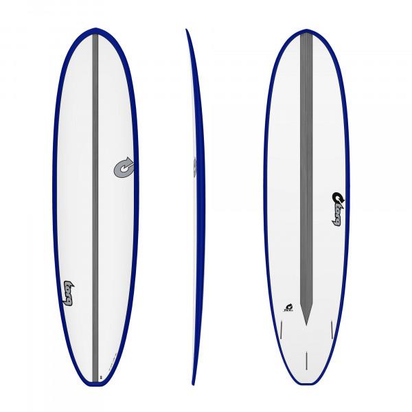Surfboard TORQ Epoxy TET 7.8 VP Fun Carbon Blue
