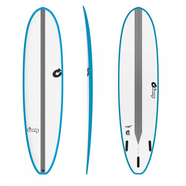 Surfboard TORQ Epoxy TEC M2 8.0 VP Rail Blau