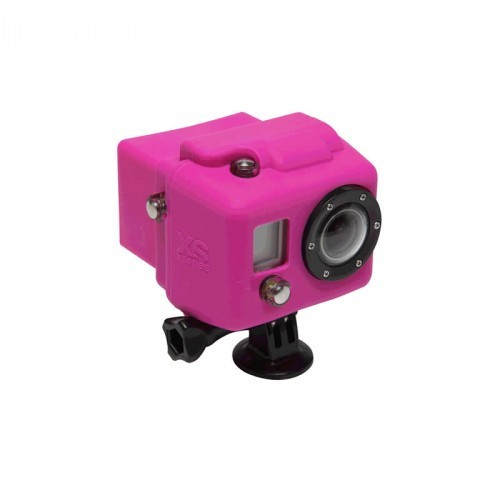 XSories Hooded Silicon Cover GoPro HD1 + 2 - pink