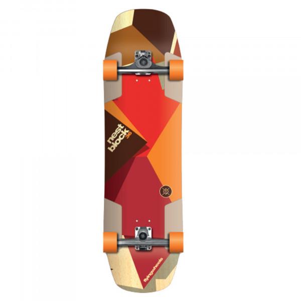 FLYING WHEELS Surf Skateboard 36