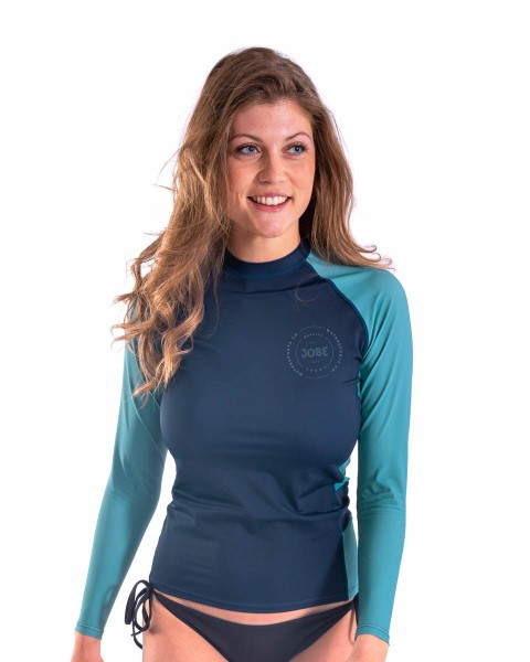 Jobe Rash Guard Longsleeve Damen Midnight Blau