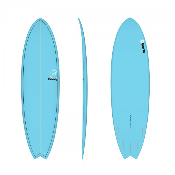 Surfboard TORQ Epoxy TET 6.3 Fish Blue