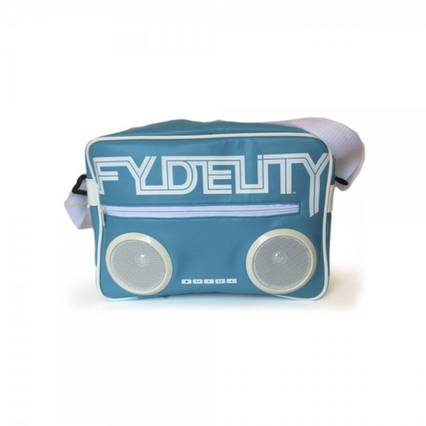 Fydelity Namesake G-Force Shoulder Bag straight blue