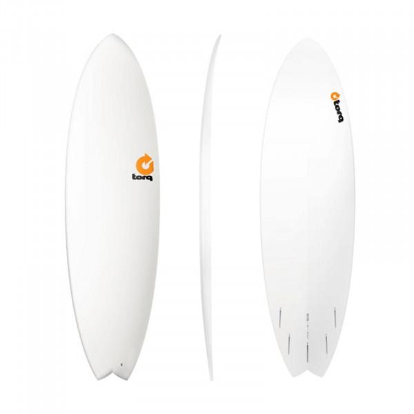 Surfboard TORQ Epoxy TET 6.6 Fish White