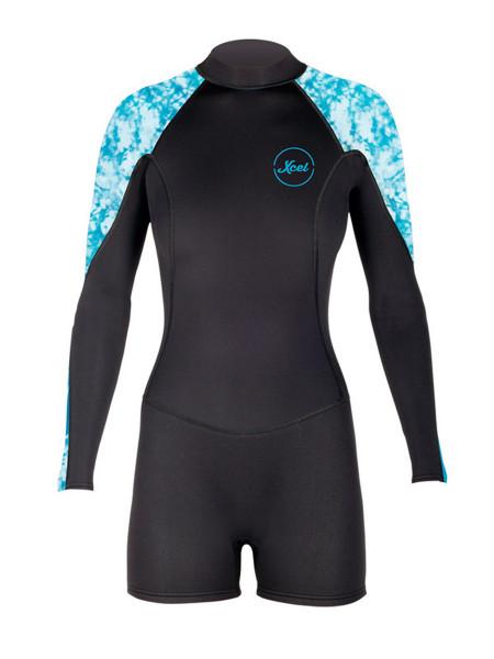 Xcel Pahoa OS L/S Springsuit Women ocean blue