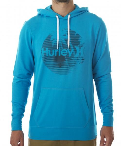 Hurley Islands Light Pullover blue lagoon