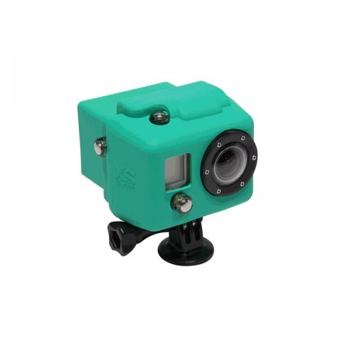 XSories Hooded Silicon Cover GoPro HD1 + 2 - green