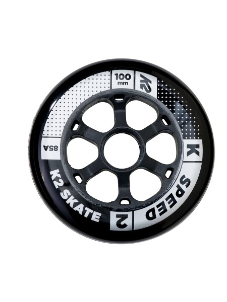 K2 100 mm Speed Wheel 4er Pack Rollen
