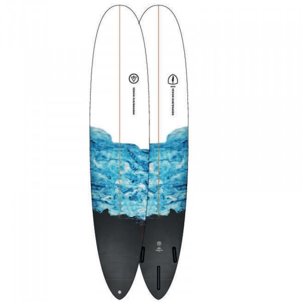 Surfboard VENON Volute 9.0 Longboard Marble