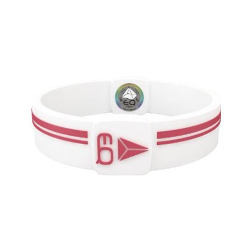 EQ - Hologramm Armband white/red