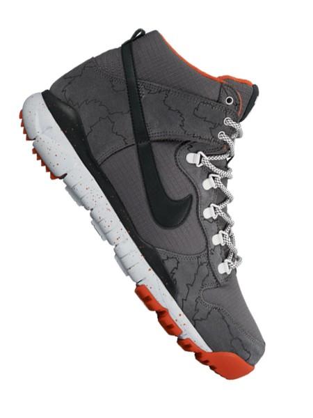 Nike SB Dunk High R/R Sneaker dark grey/black-wolf grey