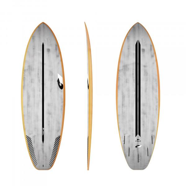 Surfboard TORQ ACT Prepreg PG-R 5.10 OrangeRail