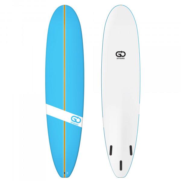 GO Softboard 8.0 Soft Top Surfboard Blau