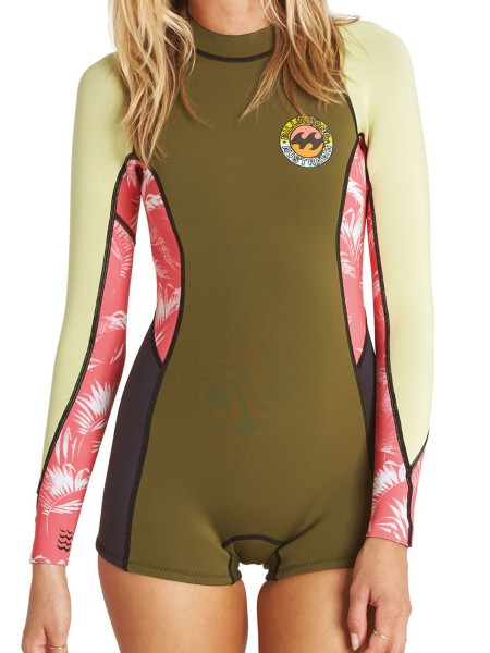 Billabong Spring Fever LS 2mm Women Neopren