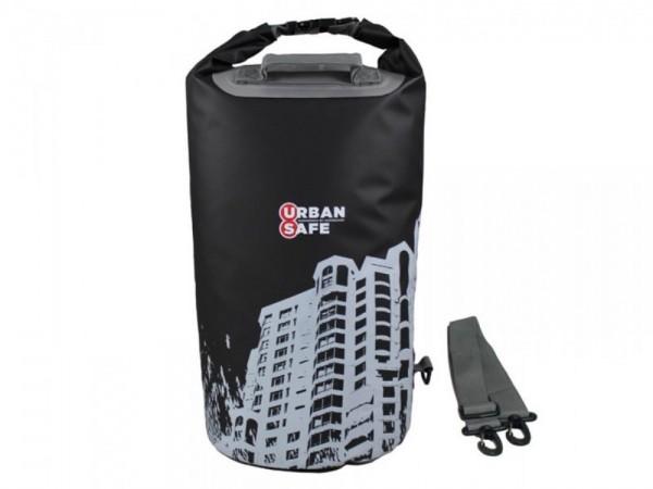 Urban Safe wasserdichte Tasche Packsack 20 L Schwa