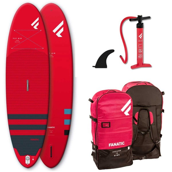 """Fanatic Fly Air 9'8"""" SUP rot"""