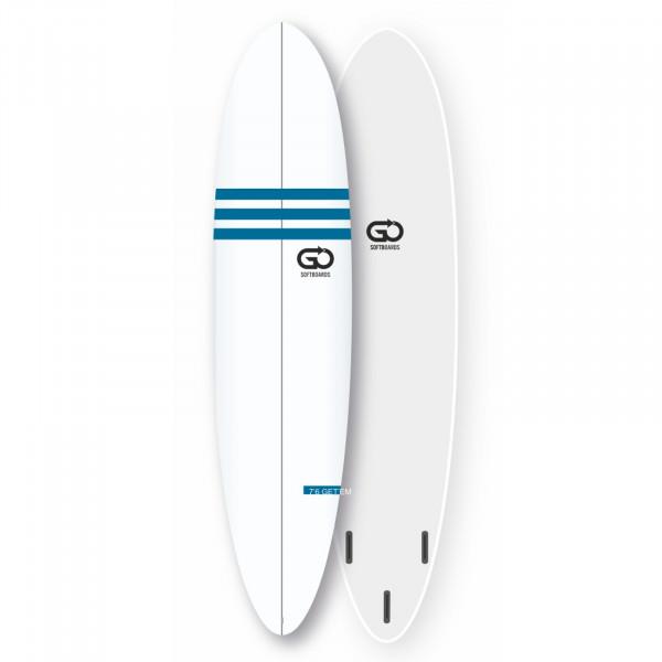 GO Softboard 7.6 Soft Top Surfboard