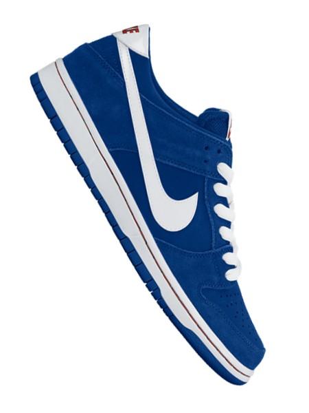 Nike SB Dunk Low Pro Ishod Wair Sneaker deep royal/white-gym red
