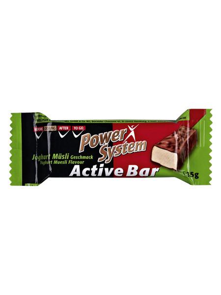 PowerSystem Active Bar Joghurt-Müsli Riegel