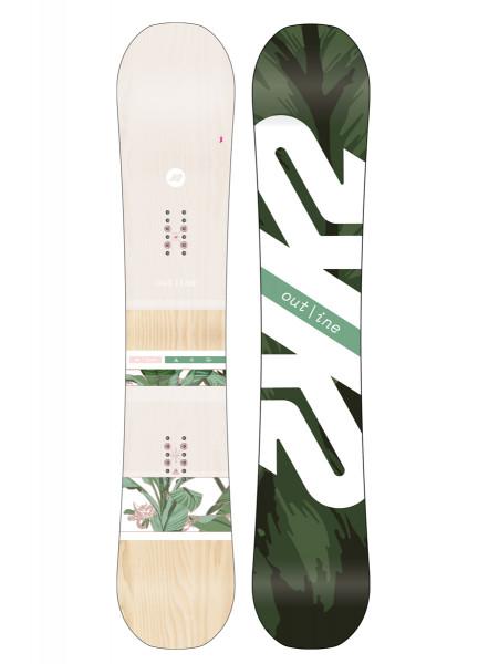 K2 Outline Women Snowboard 2019