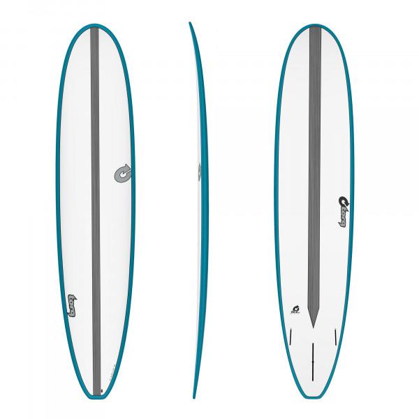 Surfboard TORQ Epoxy TET CS 9.0 Long Carbon Teal