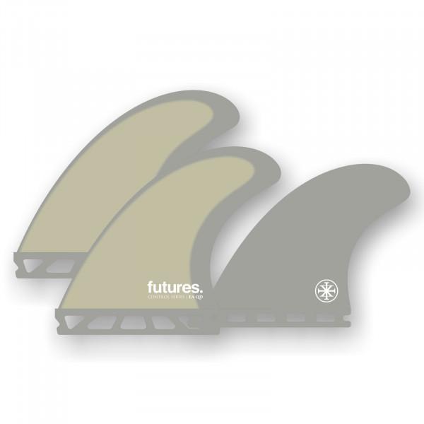 FUTURES Quad Fin Set EA Eric Arakawa Control