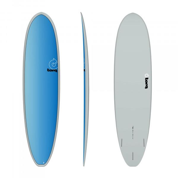 Surfboard TORQ Epoxy TET 7.8 VP Funboard Full Fade