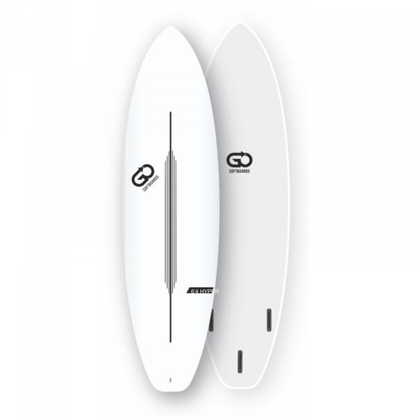 GO Softboard 6.4 Soft Top Surfboard