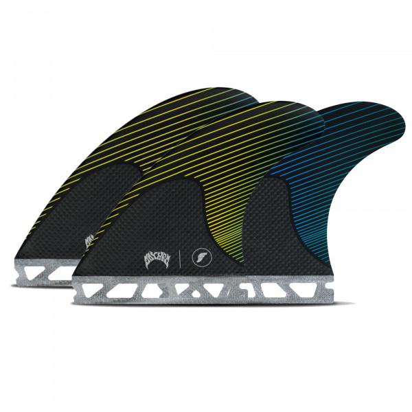FUTURES Thruster Fin Set Mayhem M Honeycomb Carbon
