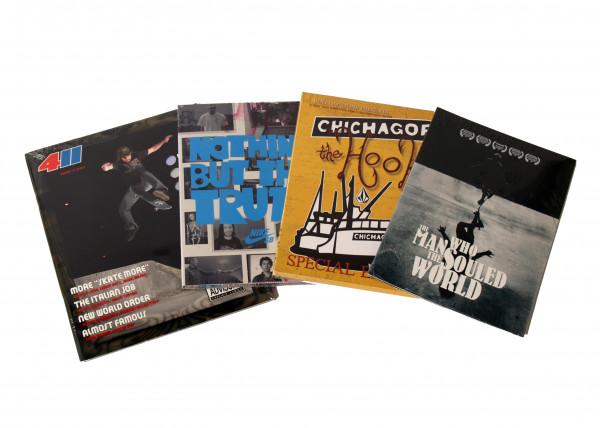 Skateboard DVD 4er Pack (Nike, 411, Volcom)