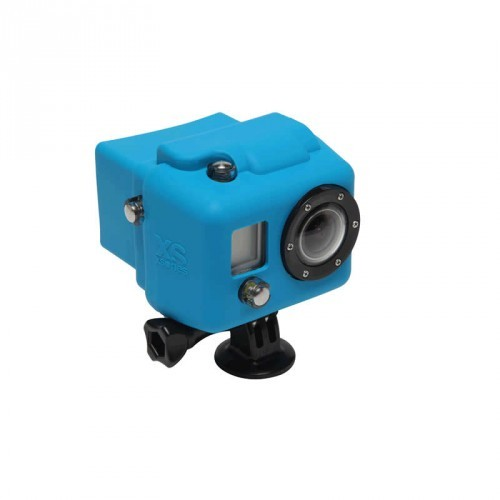 XSories Hooded Silicon Cover GoPro HD1 + 2 - blue