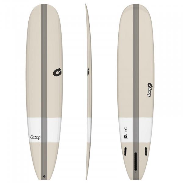 Surfboard TORQ Epoxy TEC The Horseshoe 9.6 Stone