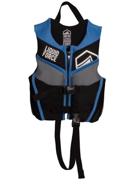 Liquid Force Fury Child CGA Wakeboardweste black/blue