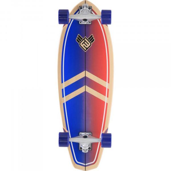 FLYING WHEELS Surf Skateboard 30