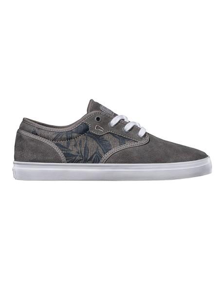Globe Motley charcoal/ Chambray palms Sneaker