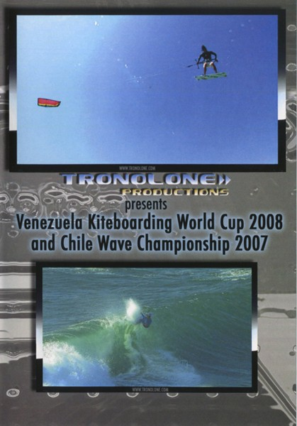 VENEZUELA KITE-WORLDCUP 08 + CHILE WAVE CS 07