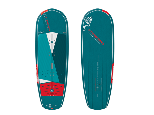 """Starboard Hyper Foil V.2 6'4"""" Blue Carbon SUP"""
