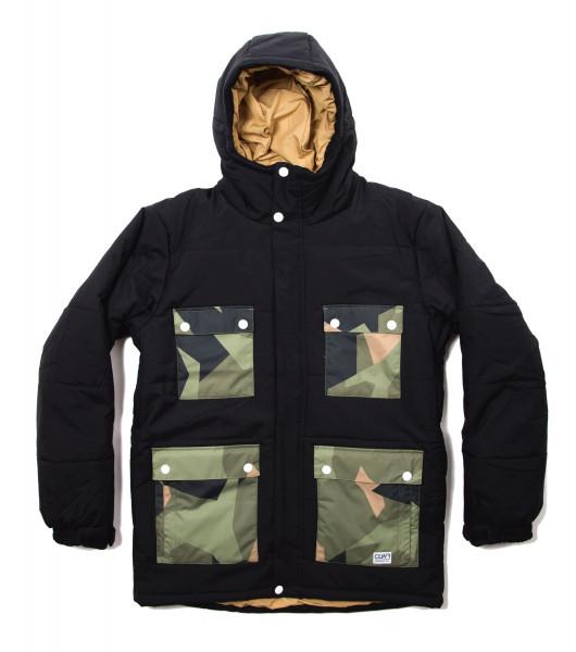 Colour Wear Switch Snow Jacket black
