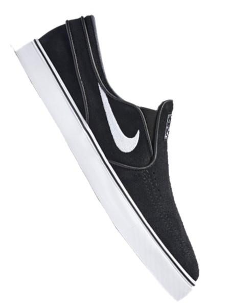 Nike SB Air Zoom Stefan Janoski Slip Sneaker black/white