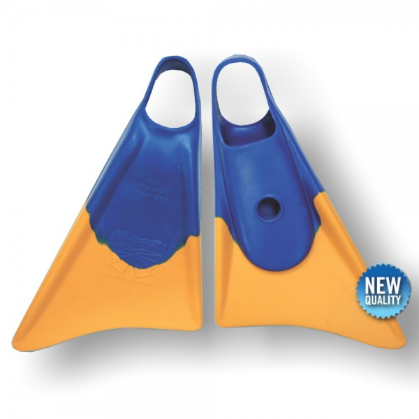 Bodyboard Flosse CHURCHILL Makapuu ML Blue Yellow